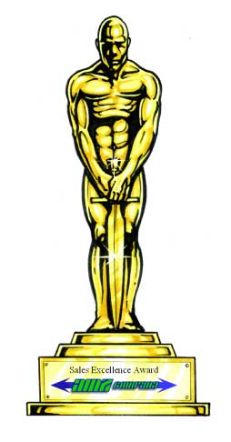 Hollywood Award Cutout / Who wouldn't want to have a picture taken with THE prize statue?