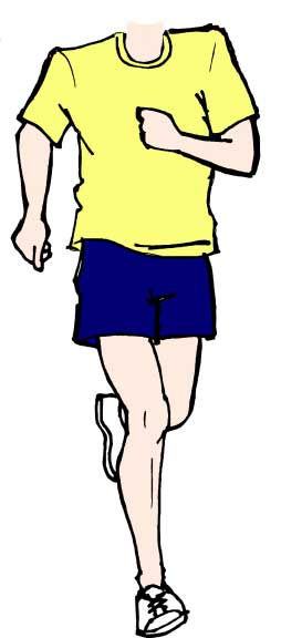 Runner Male Cutout