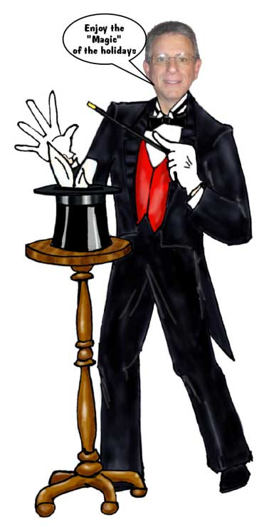 Magician Cutout / Like pulling a rabbit out of the hat. Sure to amaze!