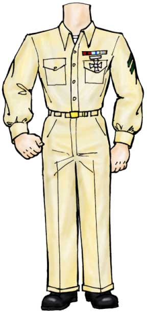 Armed Forces Cutout, Marine
