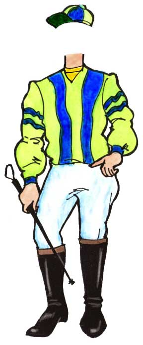 Kentucky Derby Jockey Theme Cutout / Whip your party into shape and your party will have a great stretch run.