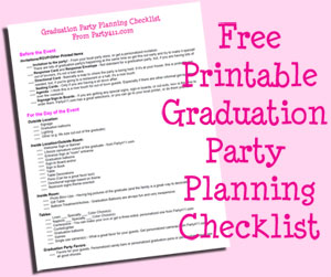 Graduation Party Ideas, Inspiration, and Free Printables!
