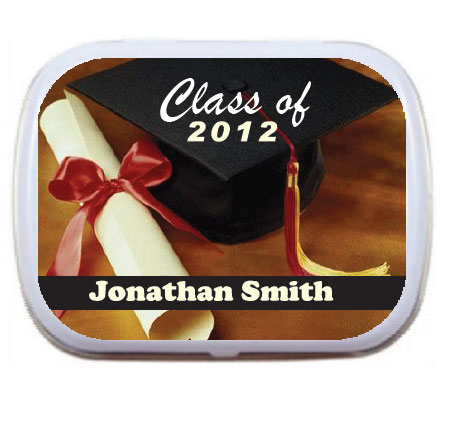 Graduation Mint Tin, Class of 2015