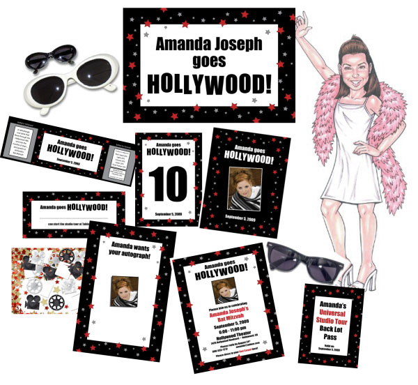 Hollywood Theme Party Package / Hooray For Hollywood!