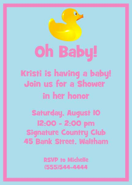 Pin Baby Shower Potluck Sign Up Sheet Template on Pinterest