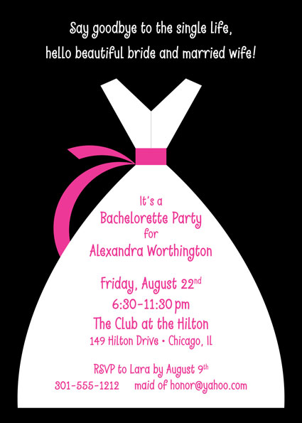 Brides Party Invitation / This invitation works for any bridal party