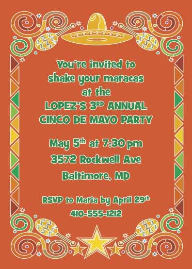 A Mexican Fiesta Invitation