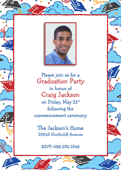 Graduation Picture Invitation