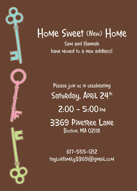Housewarming Party Invitation / Send out a custom invitation to your housewarming