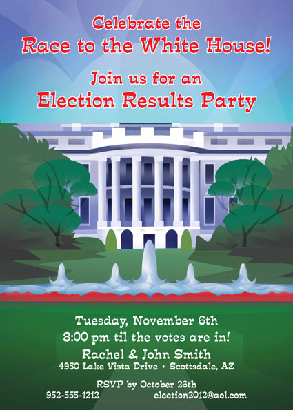 U.S. Election Night Invitation
