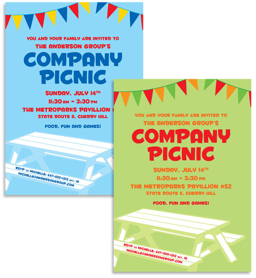 Office Picnic Invitation Email for adorable invitations ideas