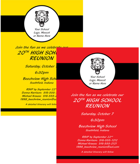 Reunion Party Invitation