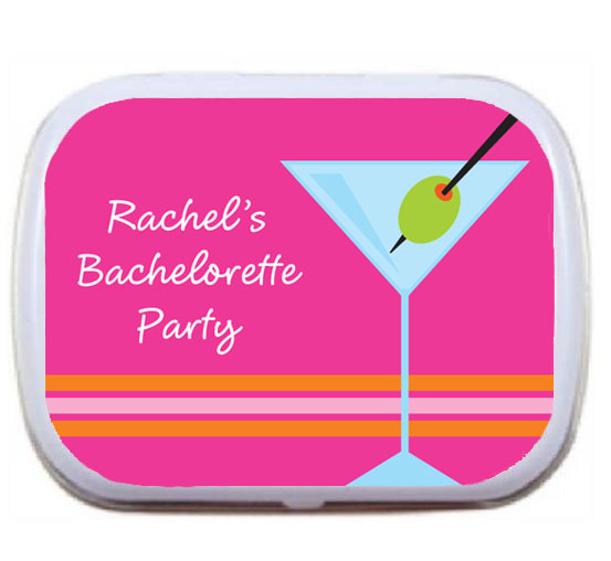 Bachelorette Martinis Mint Tin / A martini theme mint tin
