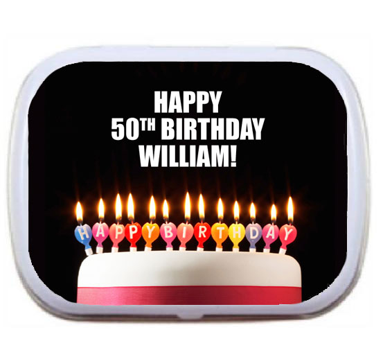A Milestone Birthday Mint Tin / A fun Birthday Mint Tin