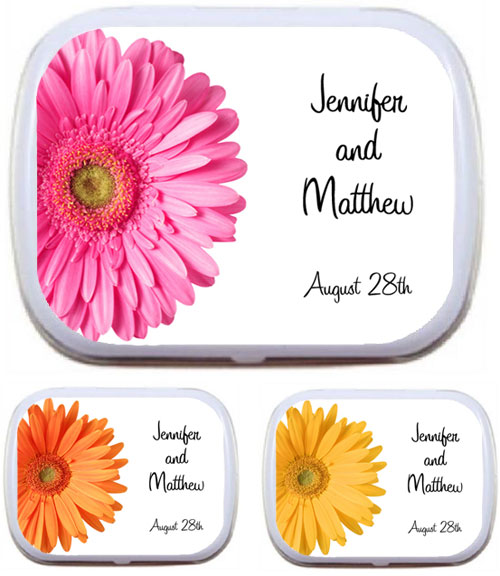 Daisy Theme Mint Tin