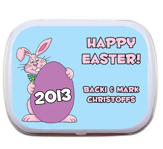 Easter Bunny Theme Party Mint Tin