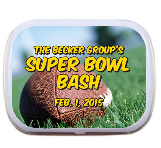 Football Bash Theme Mint Tin