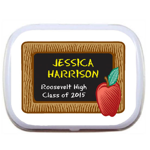 Graduation Blackboard Mint Tin / A fun favor for your preschool grad