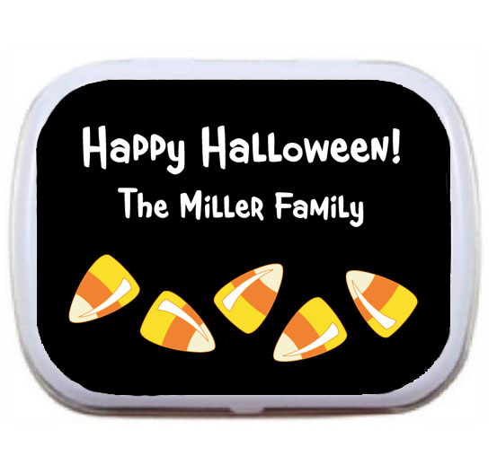 Halloween Sweet Candy Corn Mint Tin / Almost as sweet as candy corn