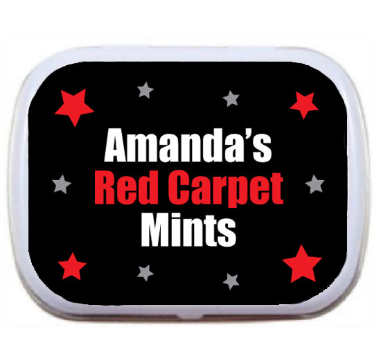 Hollywood Star Theme Mint and Candy Tin / A perfect party favor for your Hollywood party!