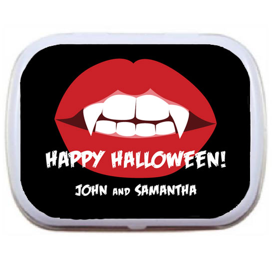 Halloween Vampire Mint Tin / Vampires really love fresh breath