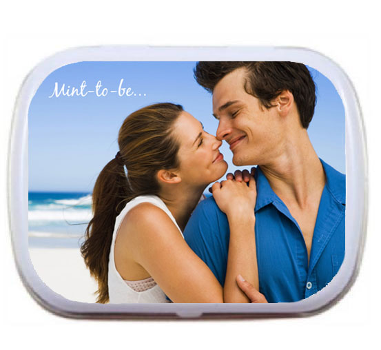 Wedding Photo Mint Tin