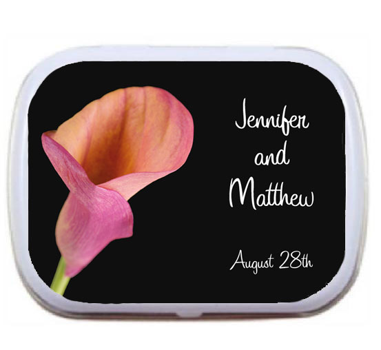 Wedding Mint Tin, Lily