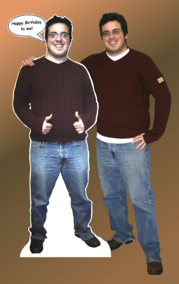 Lifesize Photo Cutout / You're the star of the party!