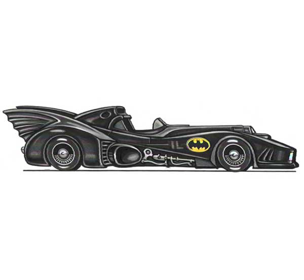 Batmobile Photo Op / Don't miss your chance in the Batmobile!