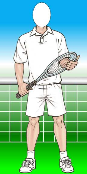Tennis Male Photo Op