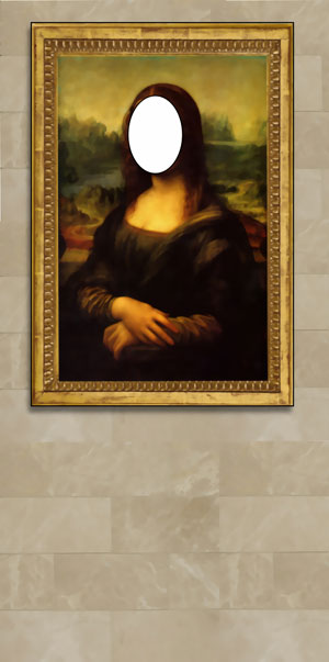 Mona Lisa Photo Op
