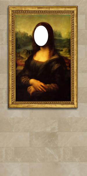 Mona Lisa Photo Op