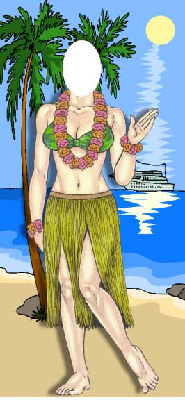 Luau Photo Op, Female