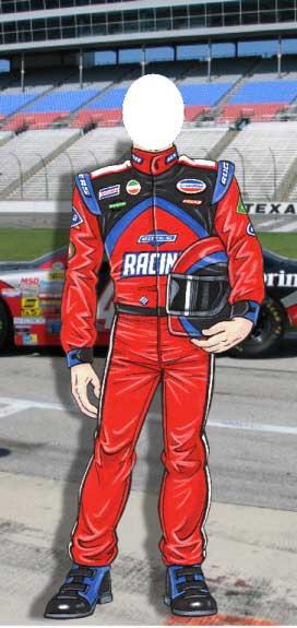 Racecar Driver Photo Op