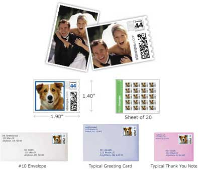 Photo Stamps / Perfect for a photo invitation!