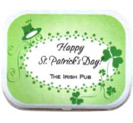 St. Patrick's Day Theme Mint Tin