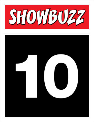 Broadway Showbuzz Table Number