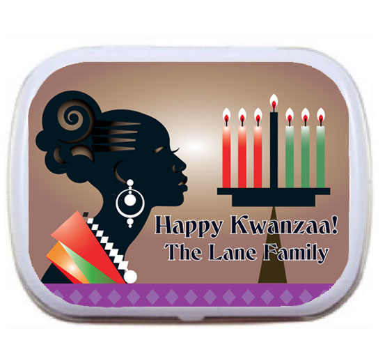 Kwanzaa Celebration Mint Tin