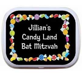 Candy Theme Mint and Candy Tin / This theme mint tin will make for a great party favor