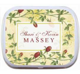 Wedding Mint Tin, Botanical
