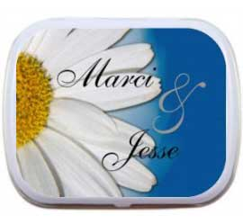 Mint Tin, Floral / A floral mint tin is a sweet and simple favor