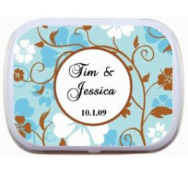 Fall Theme Mint Tin, Pastels