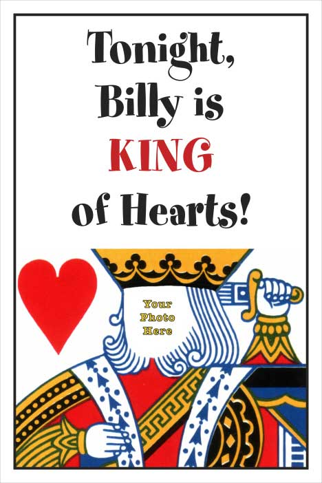 Casino Card King Welcome Sign