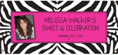 Personalized Sweet 16 Party Banners