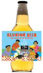 Family Reunoin beer bottle labels