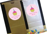 Kids party favor bags