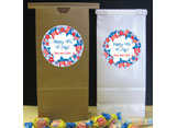 Patriotic theme favor bags