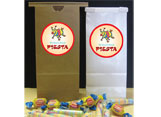 Fiesta theme party favor bags