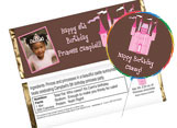 Personalized kids birthday party favors