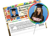 Personalized graduation party favors